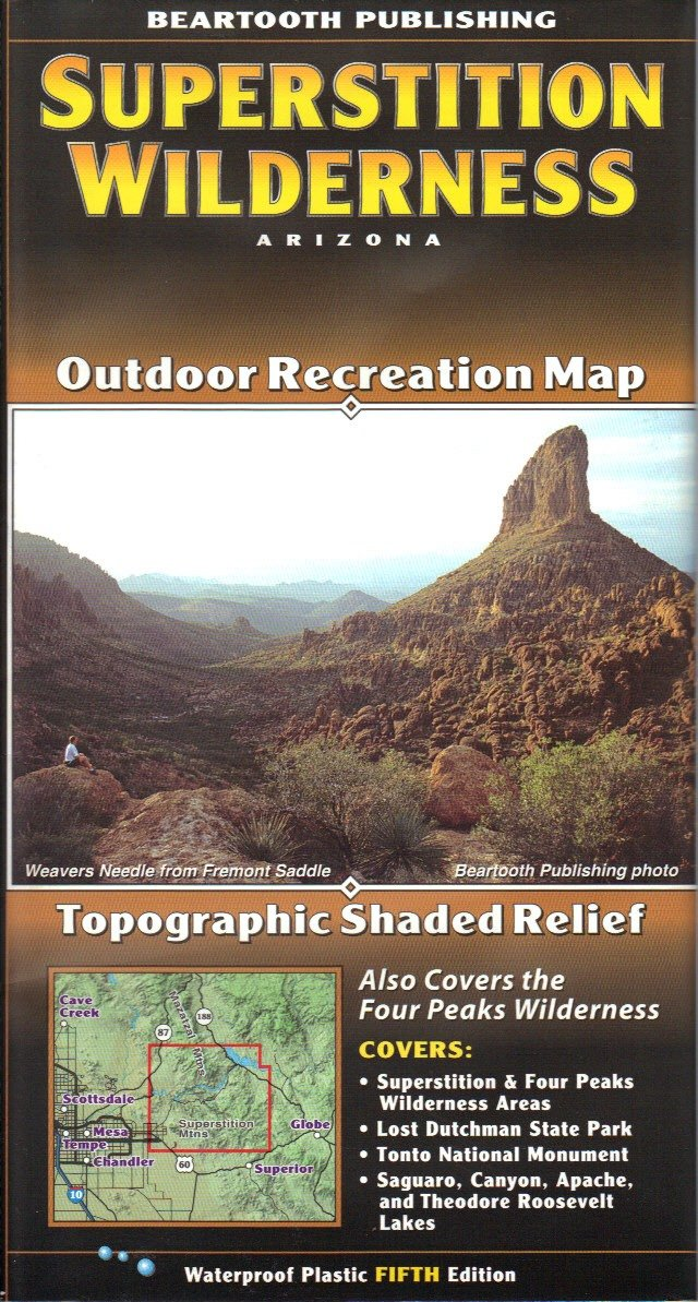 dearing canyon arizona map