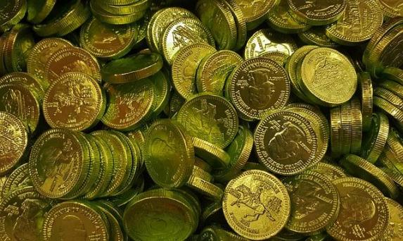gold coins found images