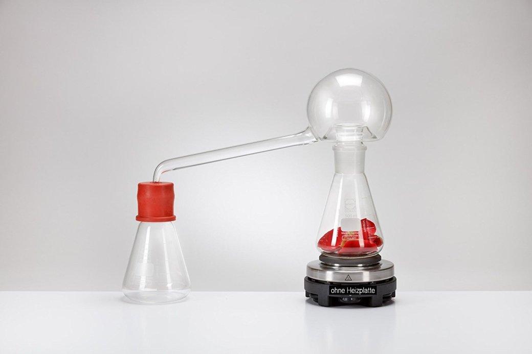 alchemie destillation glas stein des philosophen