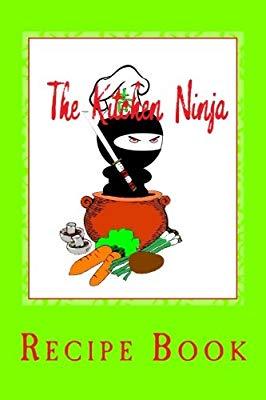 The kitchen ninja recipe book cover image