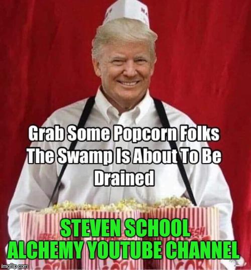 Illustration of a meme featuring Donald Trump
