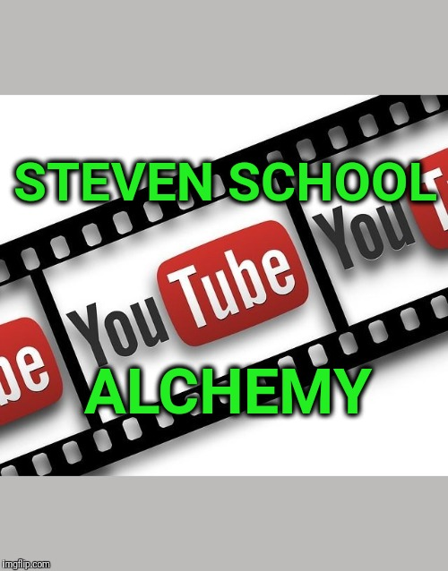 Illustration of Steven School Alchemy YouTube channel