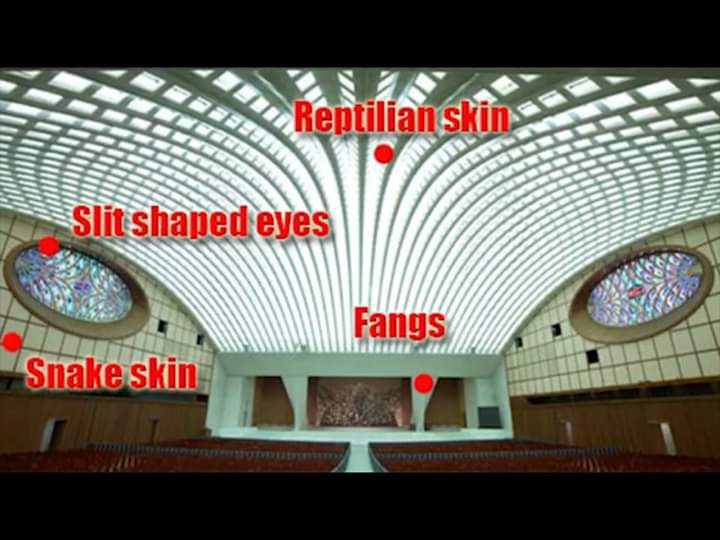 Vatican snake image