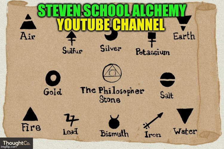 Alchemy Symbols philosopher's stone