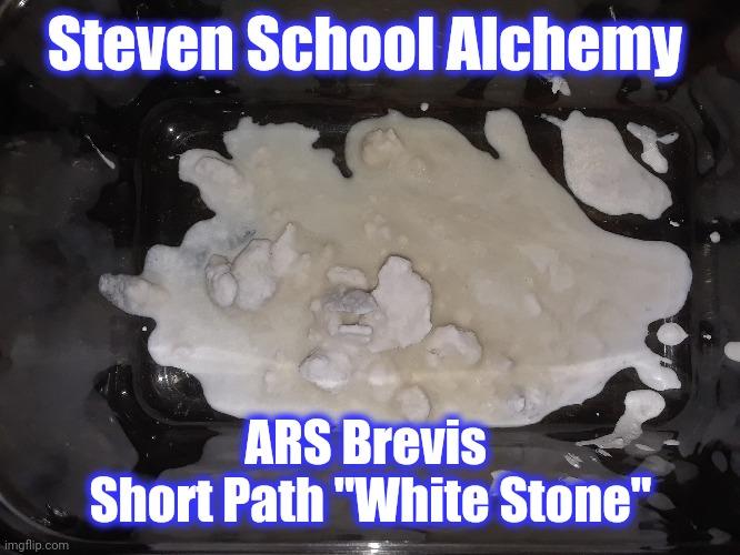 White philosopher's stone alchemy